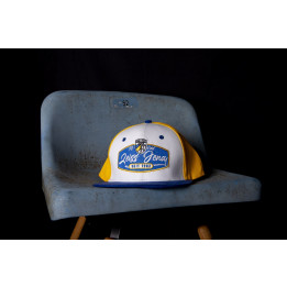 "Snapback Cap ""Blau-Gelb-Weiß"""
