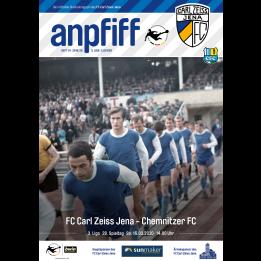 """Anpfiff """"Blaue Mauritius - Chemnitzer FC"""""""