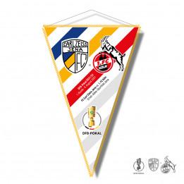 """Wimpel """"FCC - 1. FC Köln"""""""