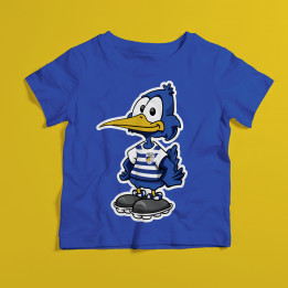 "KinderShirt ""Carl - Der Mini Zeissig"" - Blau."