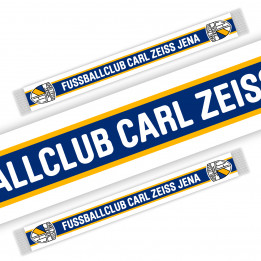 "Schal ""Fussballclub Carl Zeiss Jena"""