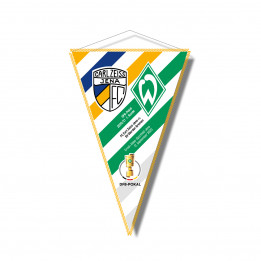 "Wimpel ""FCC - SV Werder Bremen"" (28cm)"