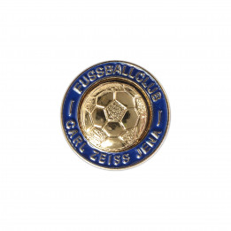 "Pin ""Fussballclub Carl Zeiss Jena"" - golden"
