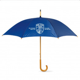 "Regenschirm ""Im Paradies regnet´s nie"""